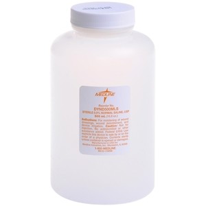 Medline Sterile Saline Solution
