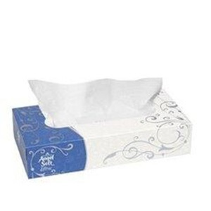 GP Angel Soft Flat Box Facial Tissue