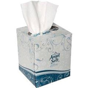 GP Angel Soft Cube Box Facial Tissue