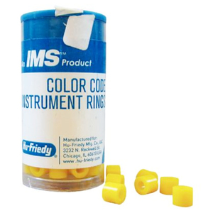 IMS Color Code Yellow Instrument Rings, Large