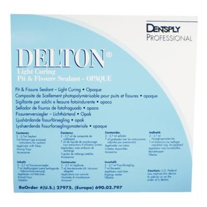 Delton Light Cure Regular Kit