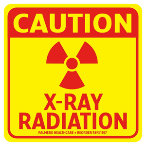 Caution Radiation Labels