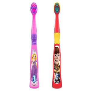 Oral-B Kids Ages 3+ Disney Princess & Toy Story Toothbrushes