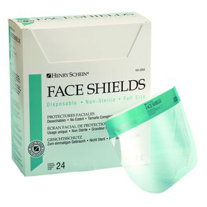 HSI Disposable Face Shield Pre-Assembled