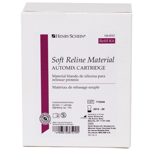 Soft Reline Material Refill