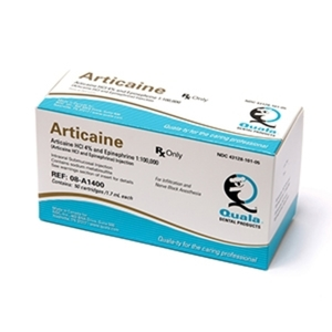 Articaine HCI 4% with Epinephrine
