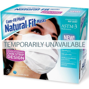 COM-FIT Plush Natural Fit Masks, ASTM 3