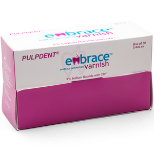 Pulpdent® Embrace™ Varnish Box, 50/package