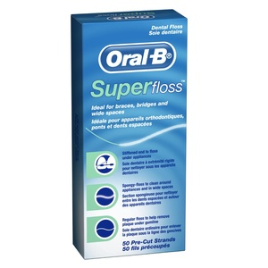 Oral-B Superfloss Trial Pack