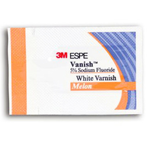 Vanish 5% Sodium Fluoride White Varnish