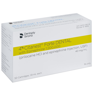 4% Citanest Forte DENTAL with Epinephrine 1:200,000