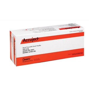 Accuject, Anesthetic Needles