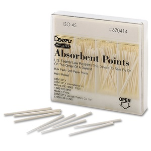 Maillefer Absorbent Paper Points .02 Bulk Pack