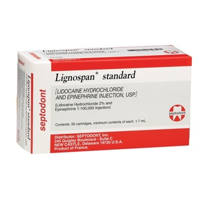 Lignospan 2% with Epinephrine