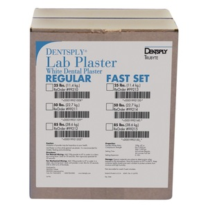 Lab Plaster Regular Set, 25 lb